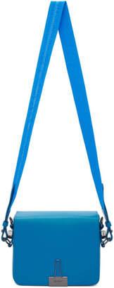 Off-White Blue Plain Flap Bag