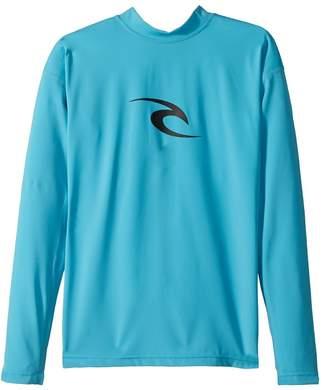 Rip Curl Kids Corpo Long Sleeve UV Tee Boy's Swimwear