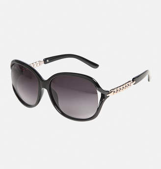 Avenue Black St. Tropez Chain Stem Sunglasses