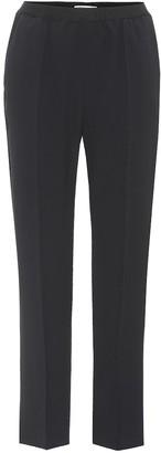 Agnona Crepe cropped trousers