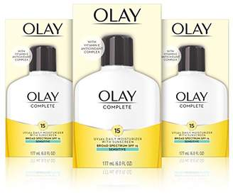 Olay Complete Lotion Moisturizer with SPF 15 Sensitive