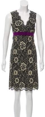 Anna Sui Sleeveless Lace Dress