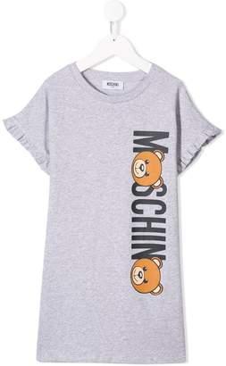 Moschino Kids Teddy Bear logo print T-shirt