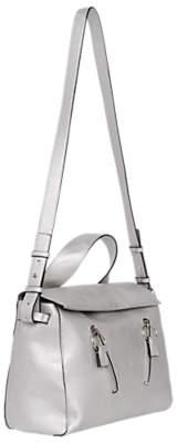 French Connection Rosalyn Carryall Shoulder Bag, Silver