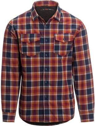 Stoic Sawtooth Sherpa Lined Shirt Jacket - Men's
