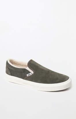 813484808d16 Vans Sherpa Suede Slip-On Shoes