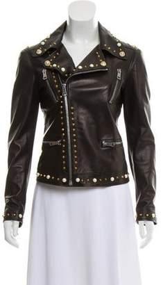 Gucci 2016 Leather Biker Jacket