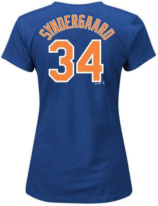 Majestic Women Noah Syndergaard New York Mets Player T-Shirt