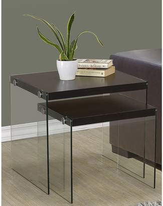 Monarch Tempered Glass Nesting Tables