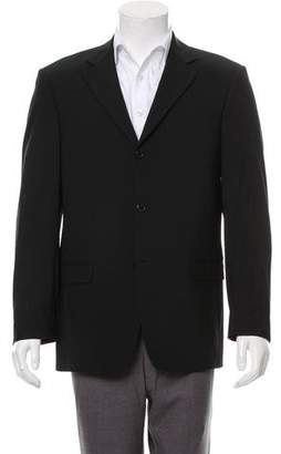 Balmain Wool Three-Button Blazer