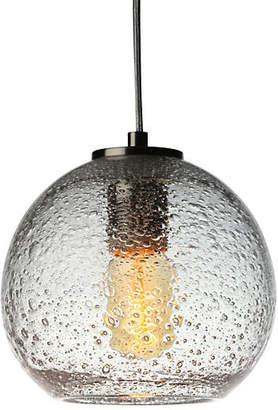 Viz Glass Art Glass Pendant - Clear