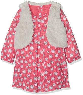 Mothercare Cat Dress With Gilet,(Manufacturer Size:098)