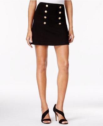 kensie Sailor Mini Skirt $49 thestylecure.com