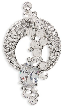 Women's Nina Crescent Moon Cascading Star Brooch $40 thestylecure.com