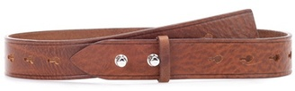 Marcia leather belt