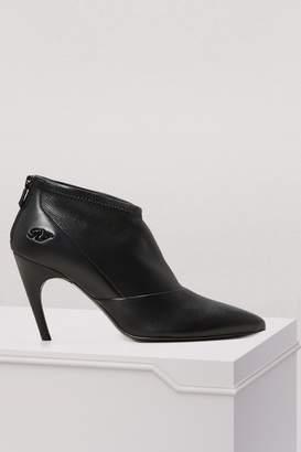 Roger Vivier Choc Real V ankle boots