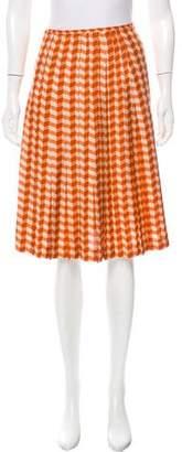 Bottega Veneta Printed Knee-Length Skirt