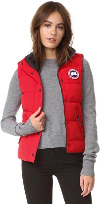Canada Goose Freestyle Vest $395 thestylecure.com