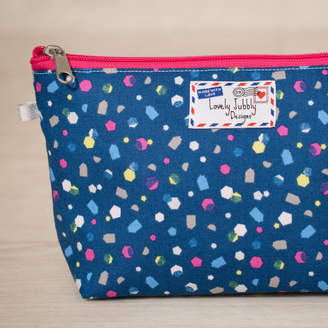 Lovely Jubbly Designs Geometric Gift Confetti Makeup Toiletry Wash Bag