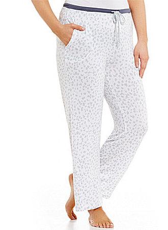 DKNYDKNY Plus Animal-Print Jersey Sleep Pants