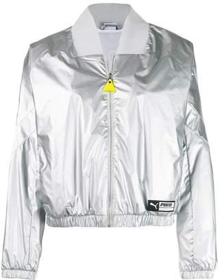Puma metallic track jacket