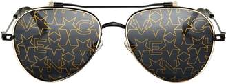 Givenchy Nude Star Aviator Sunglasses