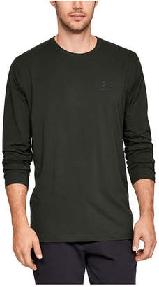 Under Armour Men Charged Cotton Long-Sleeve T-Shirt