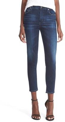 Women's Citizens Of Humanity Rocket High Waist Crop Jeans $188 thestylecure.com
