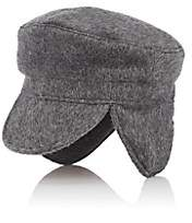 Lafayette House of Women's Brushed Cashmere Fisherman Cap - Gray