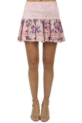 Saint Tropez Sunday Saint-Tropez Clarinette Print Skirt