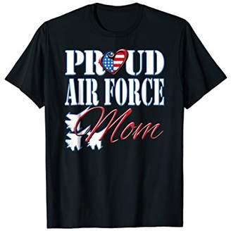 DAY Birger et Mikkelsen Proud Air Force Mom Shirt US Heart Military Mothers