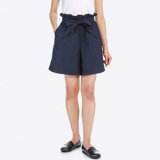 Uniqlo WOMEN Belted Shorts