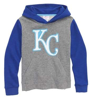 Majestic MLB New Beginnings - Kansas City Royals Pullover Hoodie