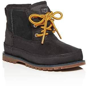 UGG Boys' Bradley Waterproof Nubuck Leather & Suede Boots - Walker, Toddler