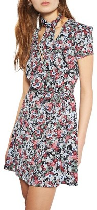Women's Topshop Sky Floral Wrap Dress $90 thestylecure.com