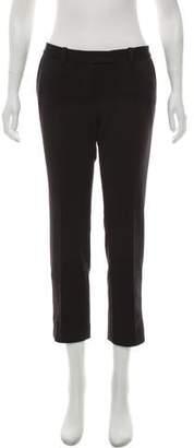 Barbara Bui Low-Rise Straight-Leg Pants