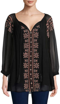 Raga Ancon Embroidered Tunic
