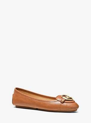 Michael Kors Lillie Leather Moccasin