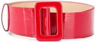 FEDERICA TOSI adjustable varnished belt