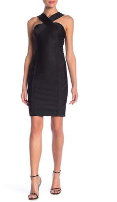 Wow Couture Crisscross Bandage Dress