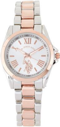 U.S. Polo Assn. USC40316 Two-Tone Watch
