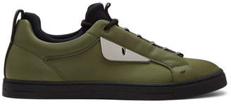 Fendi Green Bag Bugs Sneakers