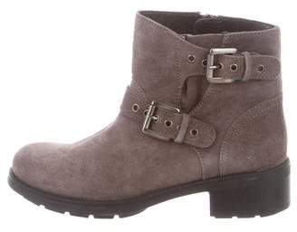 Aquatalia Suede Ankle Boots w/ Tags