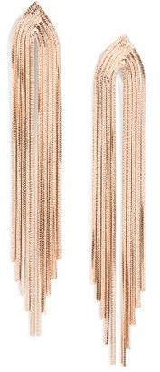 Women's Nordstrom Snake Chain Drop Earrings $35 thestylecure.com