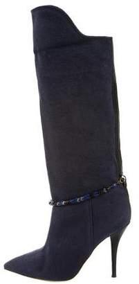 Isabel Marant Embellished Mid-Calf Boots