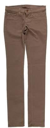 J Brand Low-Rise Pencil Leg Pants w/ Tags