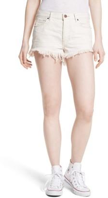 Free People Women's Cutoff Denim Shorts