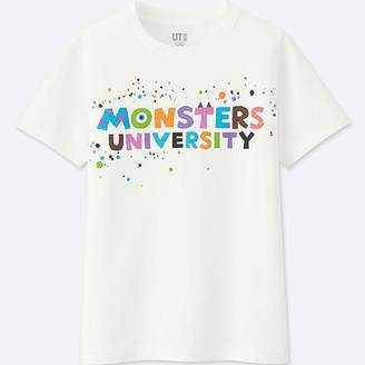 Uniqlo Boy's Color Of Pixar Short-sleeve T-Shirt