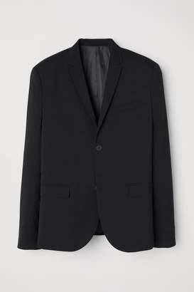 H&M Blazer Skinny fit - Black