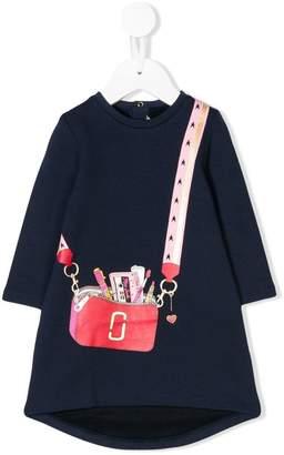 Little Marc Jacobs bag print sweatshirt dress